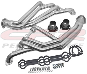 STEEL 1966-1972 CHEVY SB TRUCK HEADERS - CERAMIC