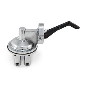 Top Street Performance Mechanical Fuel Pump - Two Valve 80 GPH 8 PSI - Chrysler SB (273-360), Chrome