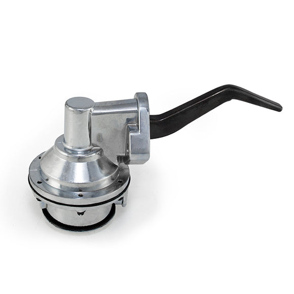 Top Street Performance Mechanical Fuel Pump - Two Valve 80 GPH 8 PSI - Ford SB (221-351W), Chrome