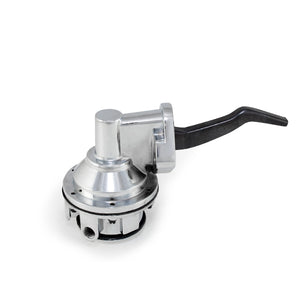 Top Street Performance Mechanical Fuel Pump - Two Valve 80 GPH 8 PSI - Ford FE (390-428), Chrome