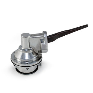 Top Street Performance Mechanical Fuel Pump - Two Valve 80 GPH 8 PSI - Ford Big Block (429-460), Chrome