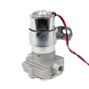 Top Street Performance Electric Fuel Pump - 130 GPH, Chrome