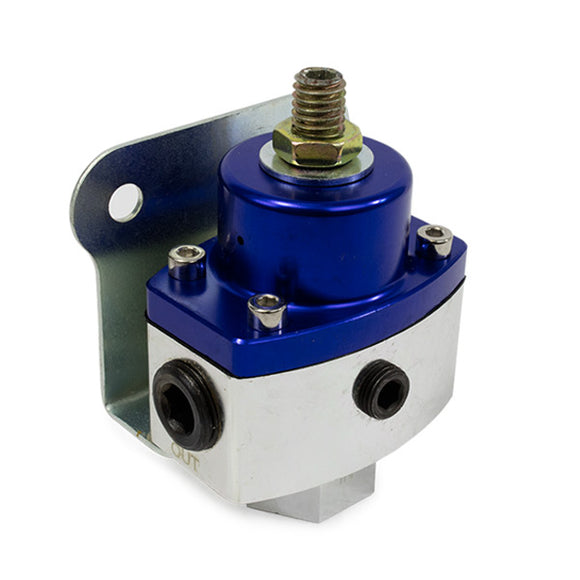 Top Street Performance Fuel Pressure Regulator - 5-12, Blue