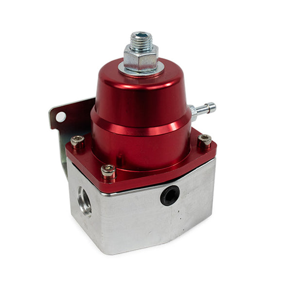 Top Street Performance Fuel Pressure Regulator - 40-75 PSI EFI Bypass, Red