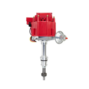 Top Street Performance HEI Distributor - Ford Small Block V8 (221, 260, 289, 302), Red