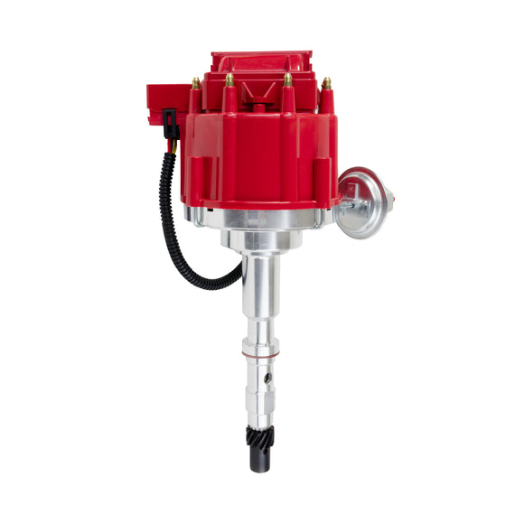 Top Street Performance HEI Distributor - AMC/Jeep V8 (290, 304, 343, 360, 390, 401), Red