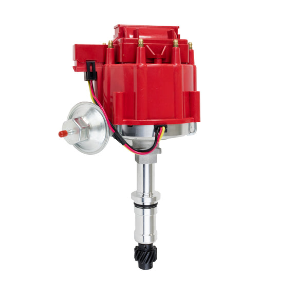 Top Street Performance HEI Distributor - Buick Small Block V8 (300, 340, 350), Red