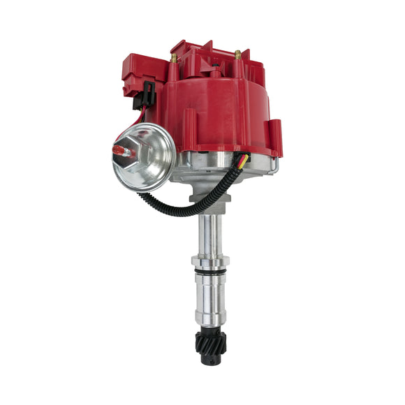 Top Street Performance HEI Distributor - Buick Even Fire V6 (231), Red