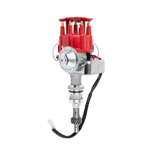 Top Street Performance Ready to Run Distributor - Ford 351W, Red