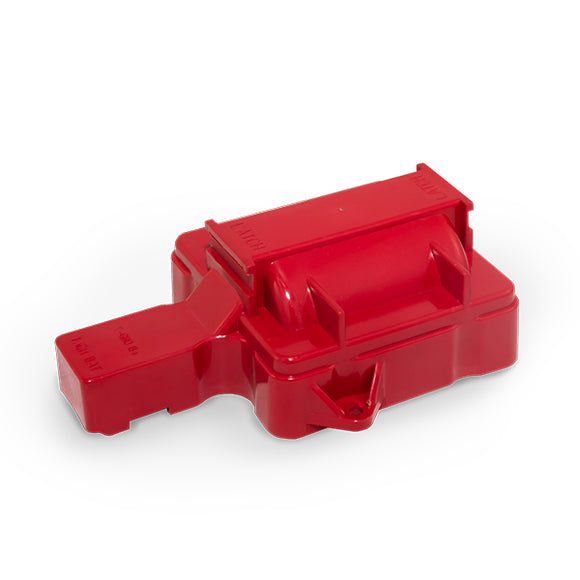 Top Street Performance HEI Distributor Coil Dust Cover - 8 Cylinder, Red