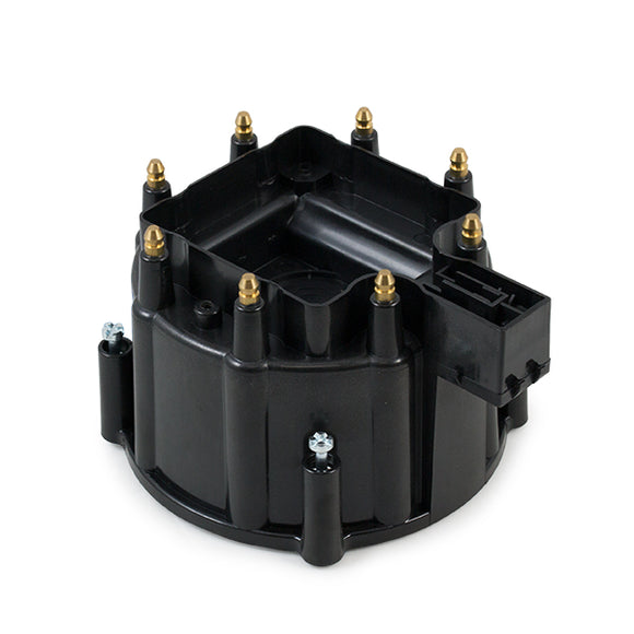 Top Street Performance HEI Distributor Cap - 8 Cylinder Male, Black