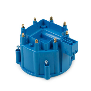 Top Street Performance HEI Distributor Cap - 8 Cylinder Male, Blue