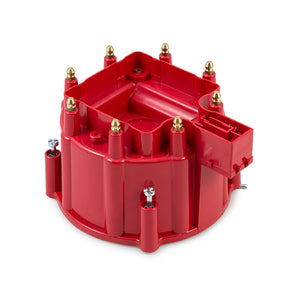 Top Street Performance HEI Distributor Cap - 8 Cylinder Male, Red