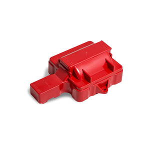 Top Street Performance HEI Distributor Coil Dust Cover - 6 Cylinder, Red