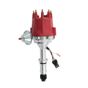 Top Street Performance Pro Series Ready to Run Distributor - Buick SB (215-350), Red