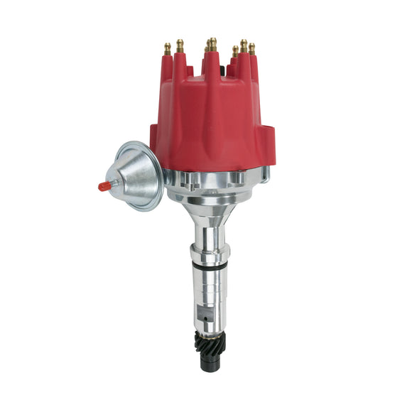 Top Street Performance Pro Series Ready to Run Distributor - Buick Nailhead V8 (322-425), Red