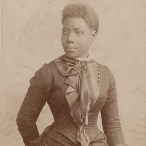 Black woman in Victorian England, part of the Black Chronicles exhibit