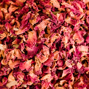 Rose petals for natural botanical beauty