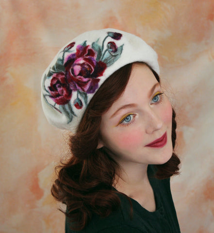 Rebecca Lord, vintage style blogger inspired by the Victorian era and timeless, romantic, feminine styles for the old soul, artisan needle felt hats