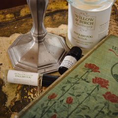English Fog fragrance by Willow & Birch Apothecary