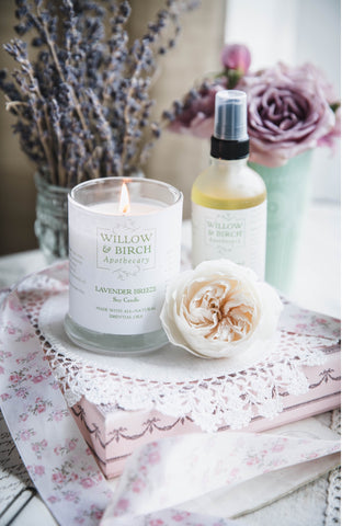Fatema Hijazi Crème au Beurre baker food blogger features Lavender beauty products by Willow & Birch Apothecary