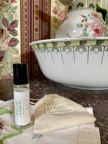 Natural perfume in Victorian style house