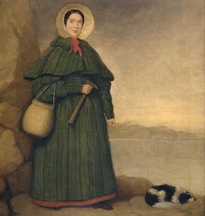 Mary Anning's curiosity led her to become a renowned paleontologist. The Mary Anning Ichthyosaur is in the Natural History Museum Mary Anning exhibit. Mary Anning died in 1847. Mary Anning first fossil was discovered in 1812.