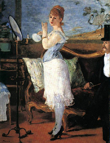 """Nana"" by Edouard Manet, 1887"
