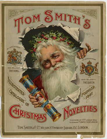 Tom Smith's Christmas Crackers Advertisement
