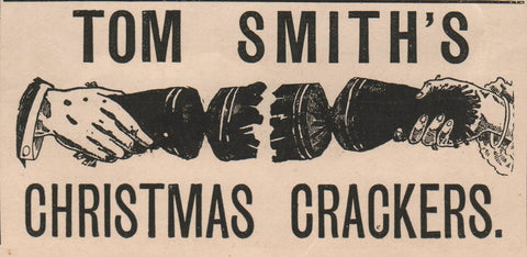 Tom Smiths Christmas Crackers Advertisement