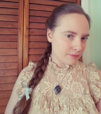 Victorian Hairstyle, Anna's Version