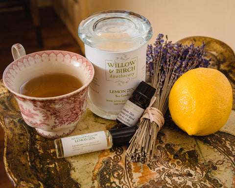 Tea Time collection by Willow & Birch Apothecary
