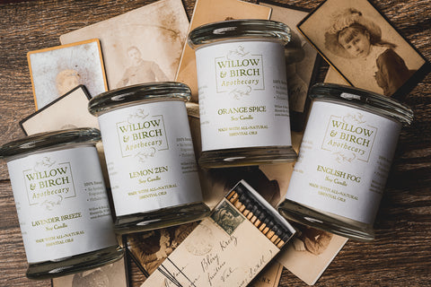 scented candles for mother's day gifts quarantine by willow & birch apothecary