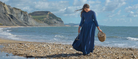 Photo from Mary Anning and the Dinosaur Hunters film about Mary Anning early life. Mary Anning was a scientist during the Georgian and Victorian eras. Mary Anning discoveries are on display at the Natural History Museum.