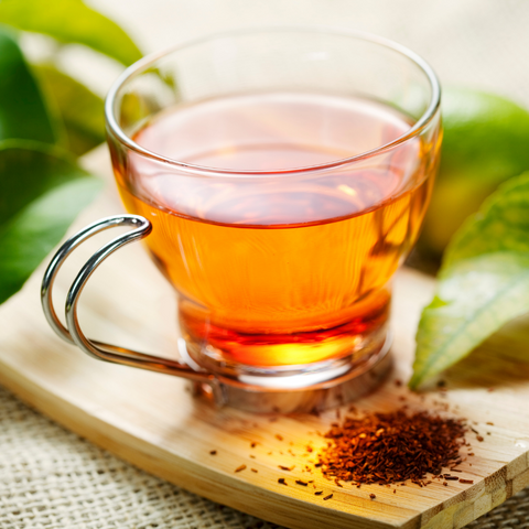 rooibos tea for how to moisturize your skin from the inside out