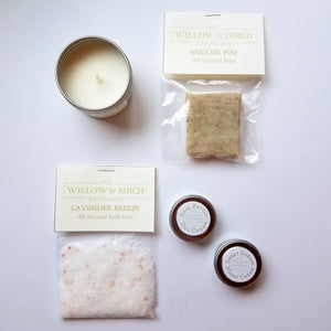 Land of Luxe Travel Set Gifts - Willow & Birch Apothecary