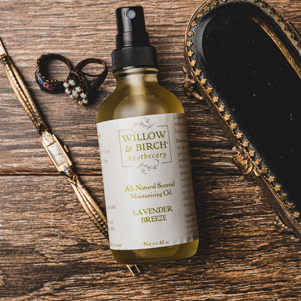 Lavender Breeze Moisturizing Oil for Body, Hair, and Bath 1