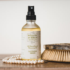Lavender Breeze Moisturizing Oil for Body, Hair, and Bath