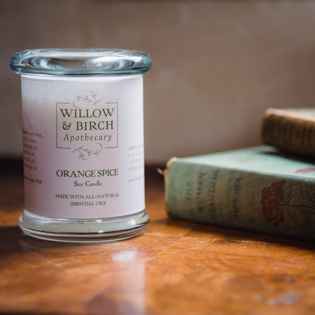 Lavender Breeze Scented Soy Candle 1