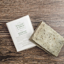 English Fog natural scented moisturizing botanical soap with essential oils from Willow & Birch Apothecary