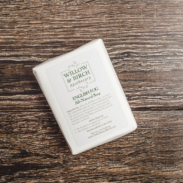 English Fog Scented Soap - All Natural Essential Oil Soap 1