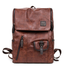 Hot Sale! Oil Wax Leather Backpacks Western Style Fashion Bag Casual Carry-On