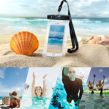 Universal 6 inch IPX8 Waterproof Phone Case Outdoor Sports Floating Pouch Bag Cover Cell Phones
