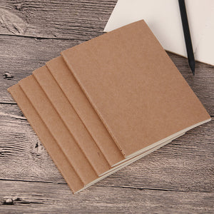 Kraft Paper Vintage Cover Travel Journal Notebook School Notebook