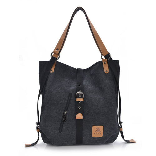 Hobo Handbag Casual Canvas Shoulder Bag Travel Messenger Carry-On