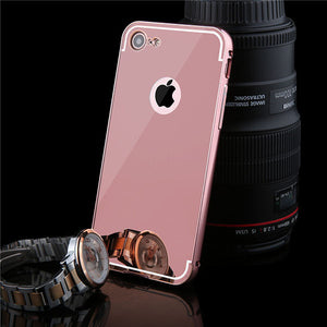 Luxury Mirror Phone Cases For 7 / Plus