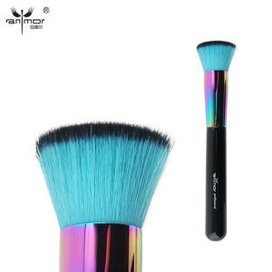 Flat Kabuki Brush Synthetic Professional Makeup Brush