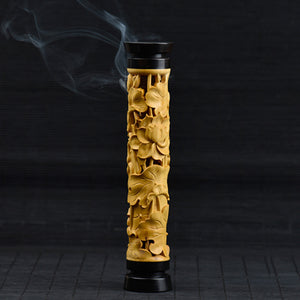Lotus Wooden Incense Burner Stick