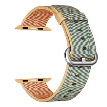 CRESTED Woven Nylon Strap Replacement Watchband For Apple Watch 38 and 42