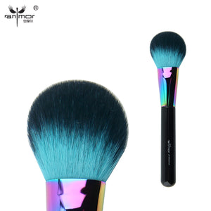 Anmor Blush Brush Synthetic Professional Makeup Brush Fluffy Head